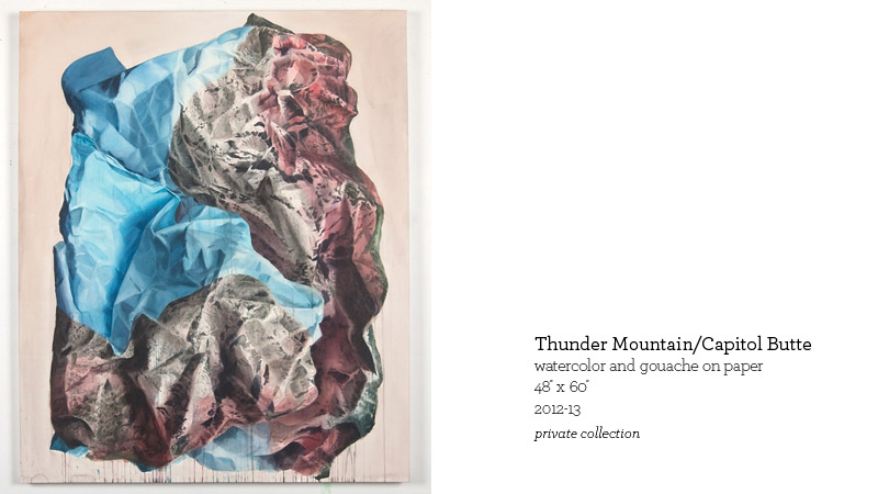 Thunder Mountain/Capitol Butte by John Coyle Steinbrunner